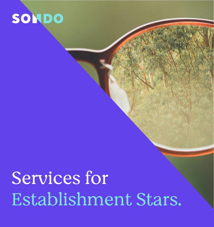 Establishment star header mobile
