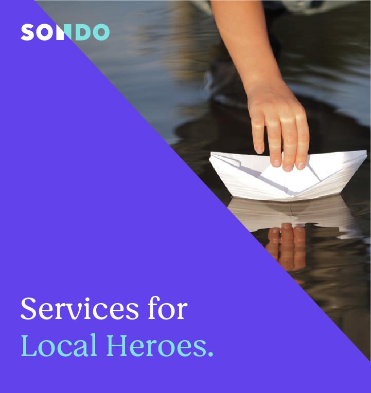Local hero header mobile